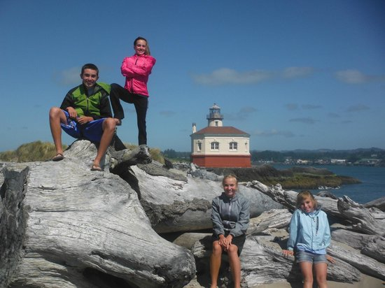 Coquille River Lighthouse : We're back
