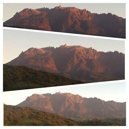 Celyn Resort Kinabalu: View of Mount Kinabalu during sunrise