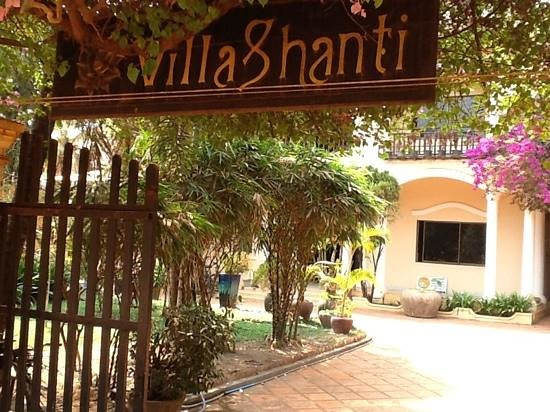 Villa Shanti : Entrée