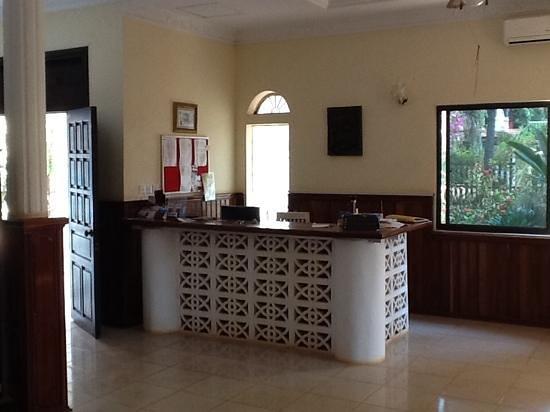 Villa Shanti : accueil