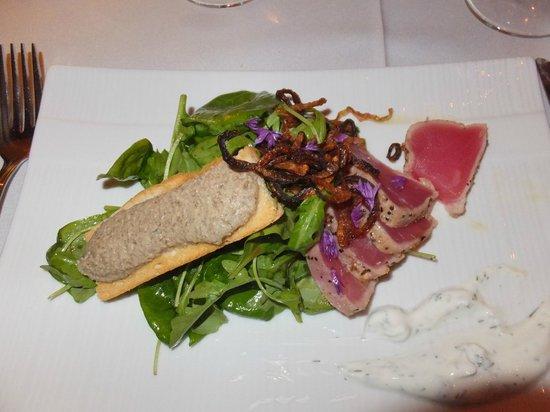 Chez Truchon: Le tataki d'albacore