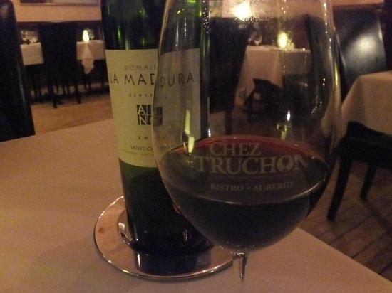 Chez Truchon: Un bon St-Chinian