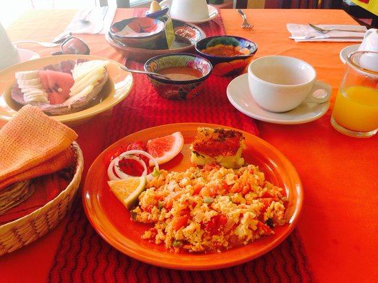 La Cazuela M & J: Leckeres Frühstück! :)