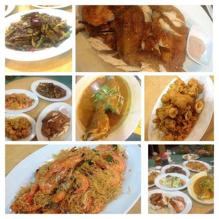 Gayang Seafood Restaurant: some of the dishes that we had during our visit