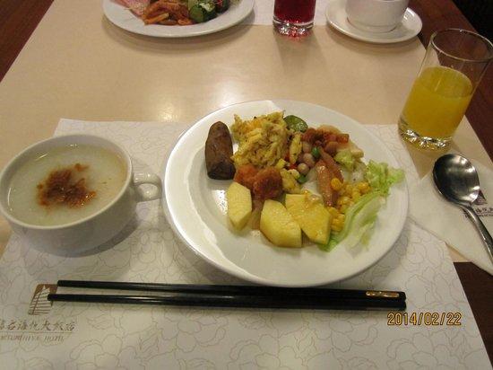 Fortune Hiya Hotel: 朝食