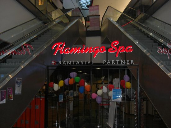Break Sokos Hotel Flamingo: Ingång till Badet.