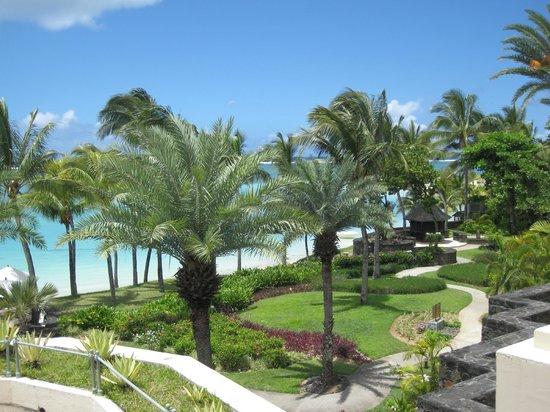 The Residence Mauritius: vue de la chambre 219