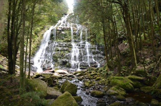 Queenstown, Australien: Nelson Falls (2)