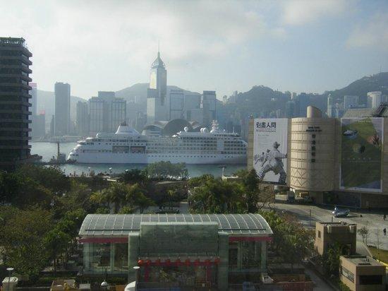 Sheraton Hong Kong Hotel & Towers: シェラトン香港の部屋からの眺め