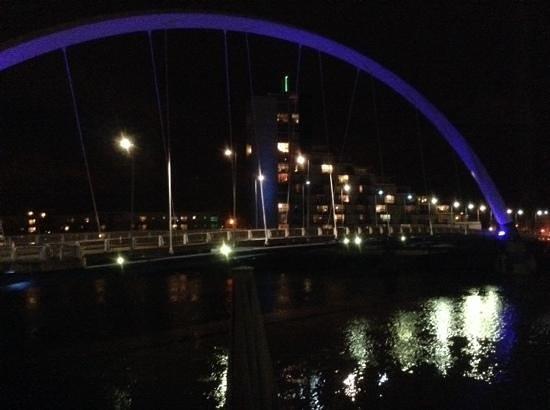 Hilton Garden Inn Glasgow City Centre: view from room 112