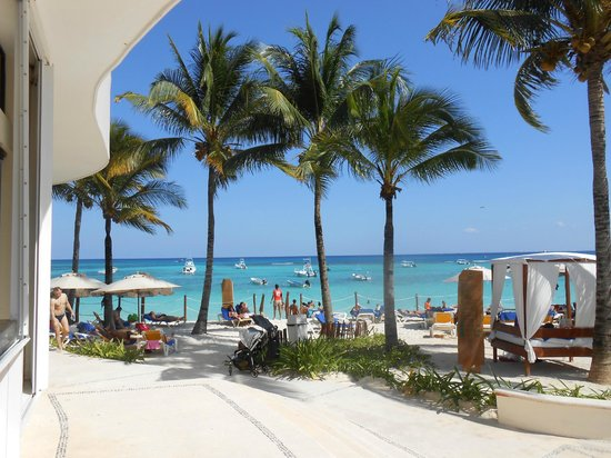 The Reef Coco Beach Ausblick Strand