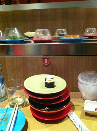 Kikko Kaiten Sushi: alcuni piattini
