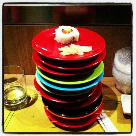Kikko Kaiten Sushi: tanti altri piattini