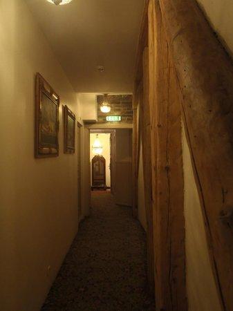 St Olav Hotel: The corridor.