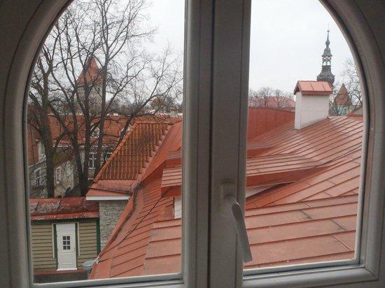 St Olav Hotel: A view to backyard.