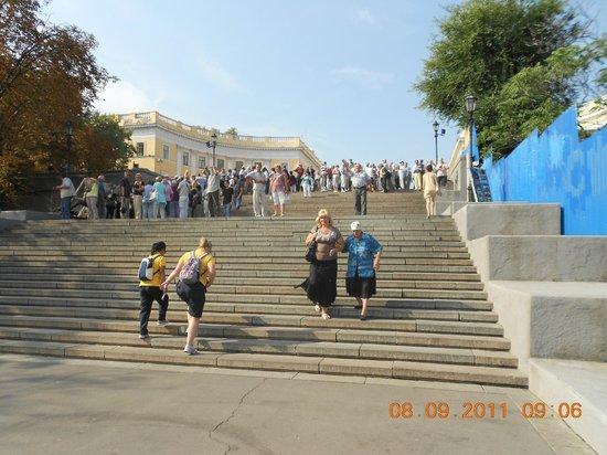 Potemkin Steps: Sulla scalinata
