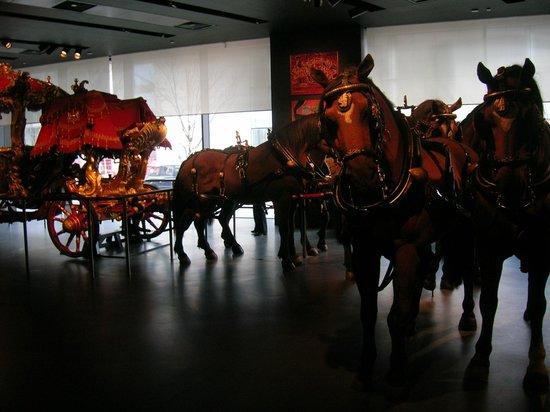 Museum of London : Carosse de la Reine