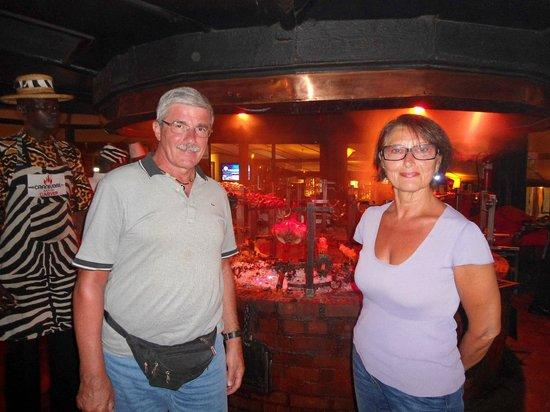 The Carnivore Restaurant : Vittoria e Nino