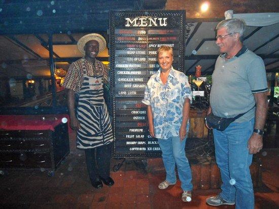 The Carnivore Restaurant : …tra le carni disponibili anche struzzo e coccodrillo!