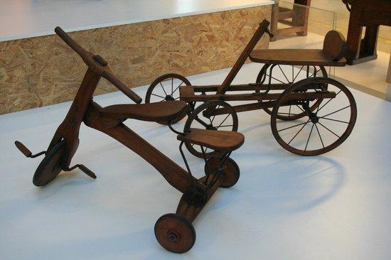 Museo del Falegname Tino Sana: tricicli