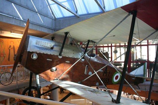 Museo del Falegname Tino Sana: aereo