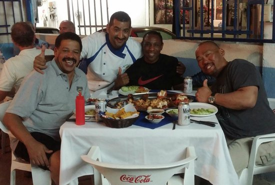 Mariscos La Palmita: Hanging With Louis!