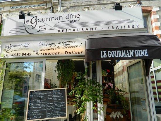 Le Gourman' dine : Devanture