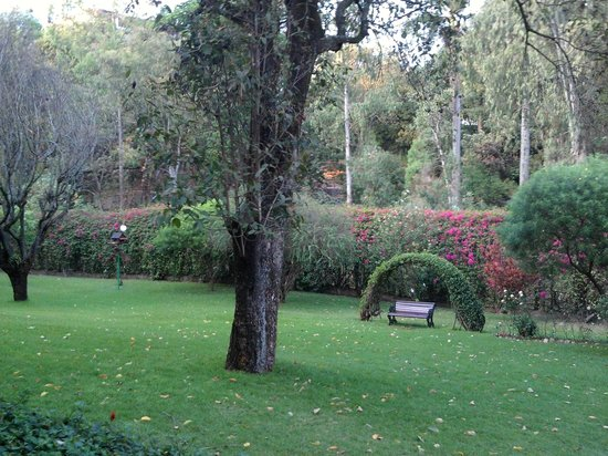 Sentrim Nairobi Boulevard Hotel: Gardens at the back of the hotel