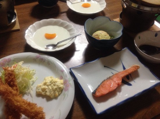 Natural Inn Suizan: 夕食です。