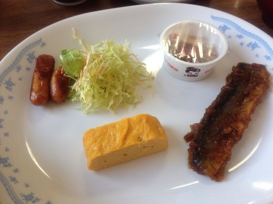 Natural Inn Suizan: 朝食。