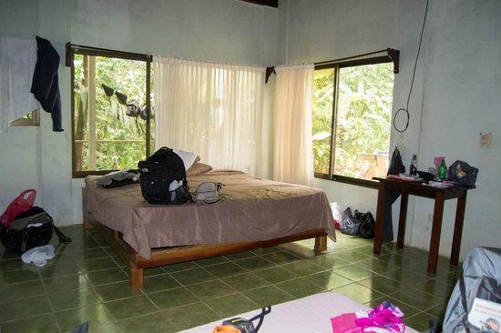Hospedaje El Bosquecito: chambre double