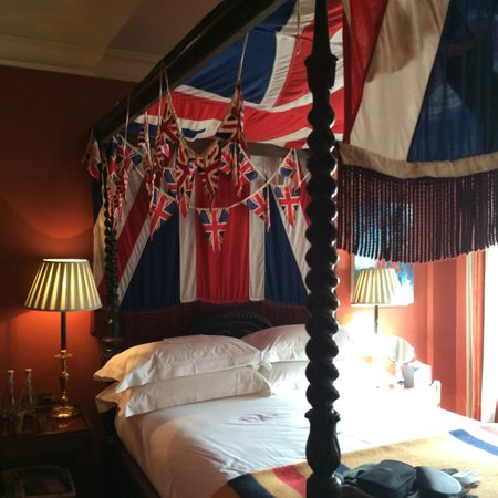 The Zetter Hotel: Union Jack room