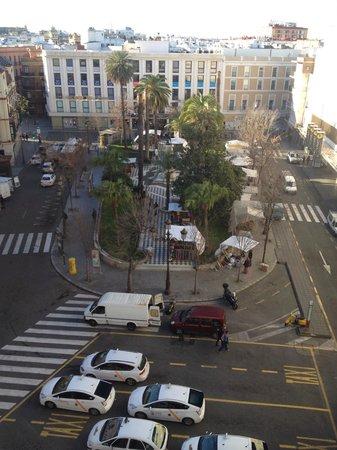 Hotel America  - Seville : Vista de mi habitacion