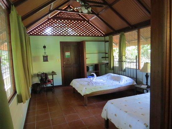 Aninga Lodge: l'intérieur d'un bugalow