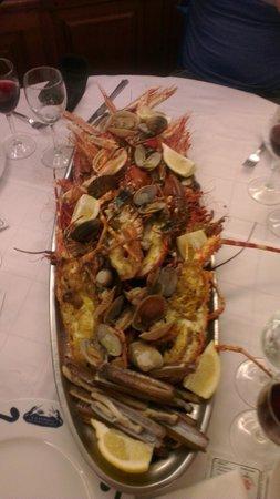 Restaurante Salamanca: SEAFOOD PLATTER
