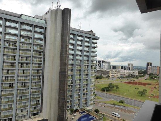 Kubitschek Plaza Hotel: Vista desde la habitación