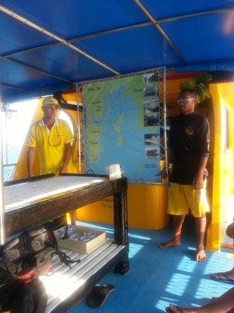 Two Sea Tour : philippe et sa bonne humeur