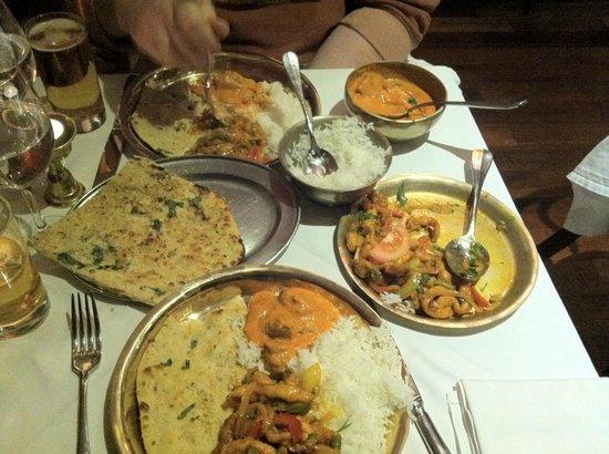 Monty's of Kathmandu: Delicious food
