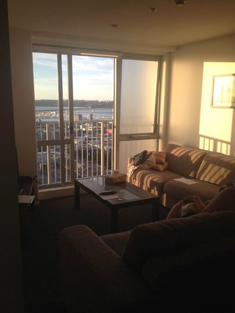 Barclay Suites Auckland: Sunset View