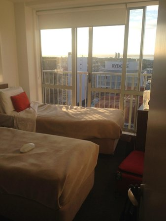 Barclay Suites Auckland : Bedroom