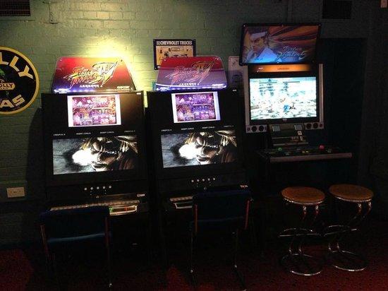 Las Vegas Arcade Soho : Street Fighter IV:AE and Virtua Fighter 5