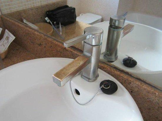 Apartamentos Gema Aguamarina Golf: Kein hübscher Anblick am Morgen