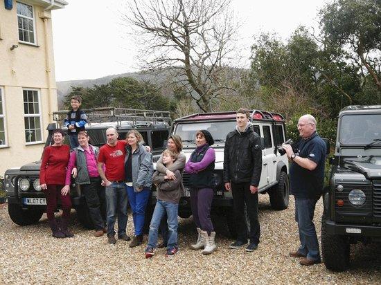 Exmoor Country House: Land Rover Group...Luiz off to Tanzania!