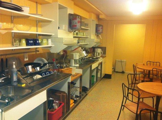 Hotell och Vandrarhem Zinkensdamm: la cucina più piccola