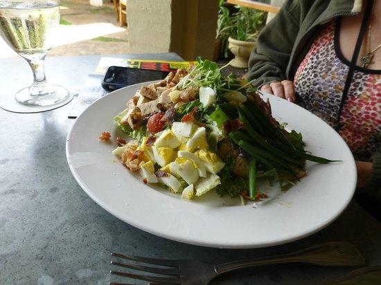 Gaylord's at Kilohana: my salad