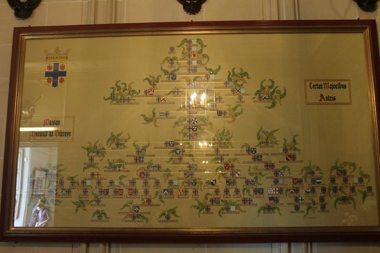 Château de Cheverny : The Hurault family tree