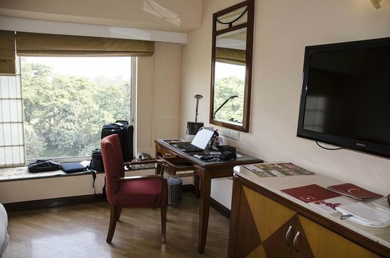 The Lalit Ashok : View of the Room