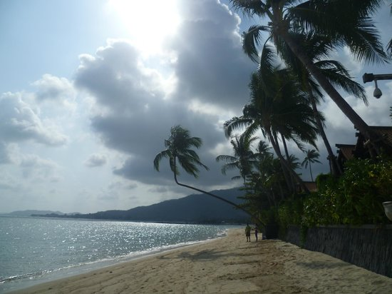 Le Meridien Koh Samui Resort & Spa: the beach