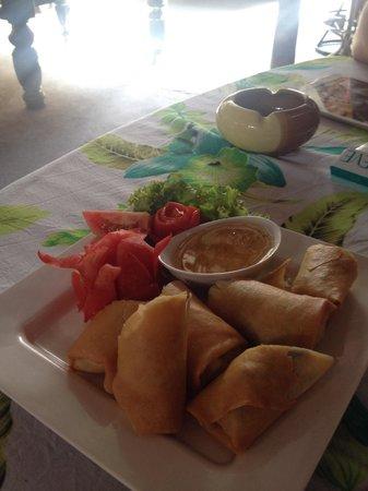 The Kitchen Restaurant Kata Beach & Thai Cooking Class : Own spring rolls ;)