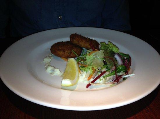Raphael Restaurant: Mackerel fishcakes